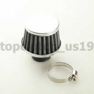 25mm 1 Universal Turbo Vent Crankcase Air Breather Intake Filter Black