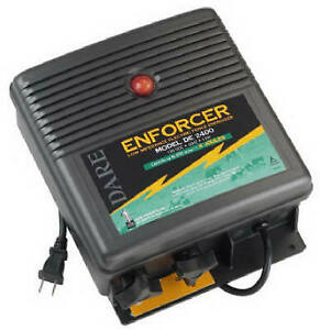 Electric Fence Charger 600 acre Low Impedance Plug in 110 volt