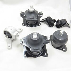 2007 2008 Acura Tl 3 2 Tl s 3 5l Engine Motor Automatic Trans Mount Set Of 6