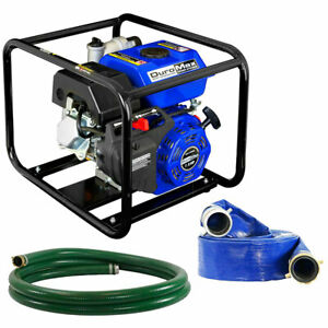 Duromax Xp652wp shk 7 Hp 158 Gpm 3600 Rpm 2 Gas Engine Water Pump Kit