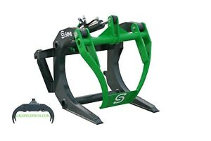 Log Grapple For Skid Steer Tractor free Shipping