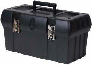 Stanley 19 Black Tool Box With Portable Tray
