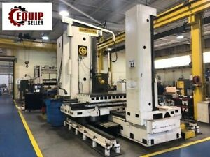 5in Giddings And Lewis Horizontal Boring Mill Milling Machine Free Loading