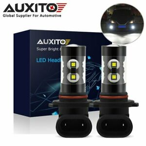 Auxito H10 9145 Led Fog Driving Light Bulb 6000k For Ford Escape 2013 2014 2015