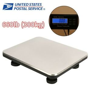 660lb Postal Scale Digital Shipping Electronic Mail Packages Capacity Of 300kg