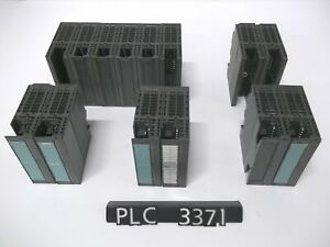 Siemens 6es7 Various 6es7 I o Simatic Modules Missing Terminals Lot 14 plc3371