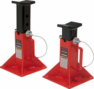 Norco 81205i 5 Ton Capacity Pin Type Jack Stands Imported New