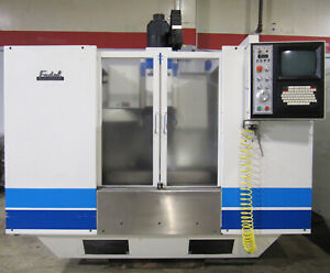 1997 Fadal Vmc 30 x16 Cnc Vertical Mill Ac Motor Made In Usa Good Condition