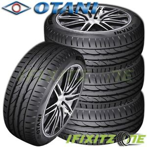 4 Otani Kc2000 215 45zr17 Xl 91w Ultra high Performance Asymmetric Sport Tires