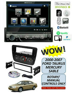 Soundstream Vir 7830b Stereo Kit For 2000 2007 Ford Taurus Mercury Sable