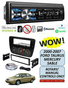 Soundstream Vm 21b Stereo Kit For 2000 2007 Ford Taurus Mercury Sable