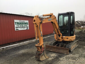 2014 Case Cx31b Hydraulic Mini Excavator W Cab One Owner Only 1200 Hours