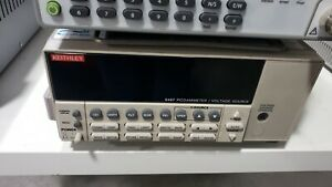 Keithley 6487 Autoranging Test Picoammeter Voltage Source 505vdc 20fa To 20m