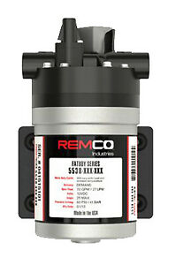 Remco Pump 7 gpm 1 2 in Fnpt 60 Psi 12 volt