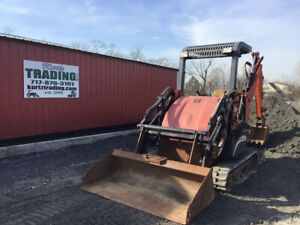 2007 Ditch Witch Xt1600 Compact Track Tractor Loader Backhoe Only 3300 Hours