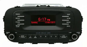 2014 16 Kia Soul Oem Am Fm Radio Mp3 Bluetooth And Satellite Ready 96170 B2090ca