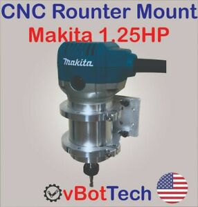 Cnc Router spindle Mount Clamp Holder Kit For Makita Rt0701c 1 25hp Diy