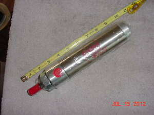 new Bimba Stainless Pneumatic Air Cylinder 244 dv