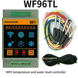 Wifi Temperature Controller Water Level Controller Solar Thermostat With Sensor