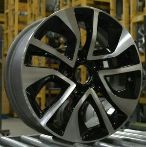 16 Honda Civic 2013 2014 2015 Factory Oem Rim Wheel 64054 Black Machined Blem