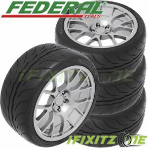4 Federal 595rs Pro 205 50zr15 89w Xl Ultra High Performance Uhp Tires