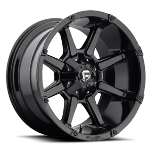 4 20x9 Fuel Gloss Black Coupler Wheels 6x135 6x139 7 For Ford Toyota Jeep