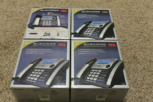 Set Of 4 four Rca 8 line Visys Corded Expansion Desk Phones 25825