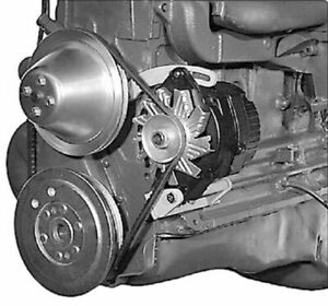 Alan Grove 224l Chevy 1955 1962 6 Cyl Alternator Bracket