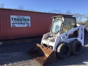1998 Bobcat 751f Skid Steer Loader W Cab Kubota Diesel Only 1900 Hours