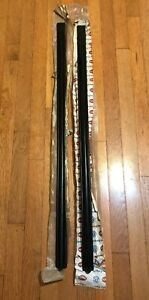 Vw Mk2 Nos Golf Jetta Front 4 Door Early Stick On Moldings Ships Fast