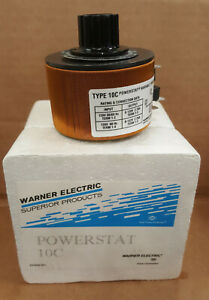Superior Powerstat 10c Variac 120 Vac Variable Transformer Brand New In Box