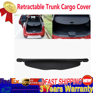 Usa Trunk Shade Black Cargo Cover For Nissan Rogue Sv X trail 2014 2018