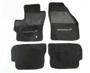 2007 2009 Mazda Mazdaspeed 3 Hatch Front And Rear Floor Mats set Of 4 P1405