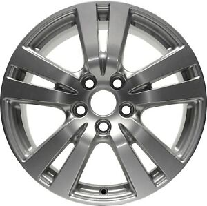 Wheel Fits 2016 2018 Honda Pilot 18 Inch Alloy Rim 5 Lug 120 65mm