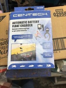New Cen Tech Automatic Battery Float Charger Car Truck Motorcycle Atv Snowmobile