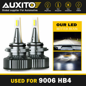 Brightest Auxito 9006 Hb4 Led Headlight Bulb Low Beam Canbus Error Free 32000lm