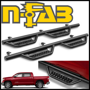 N Fab Nerf Step Rs Cab Length Step Bars Fit 2007 2019 Tundra Crewmax W 5 6 Bed