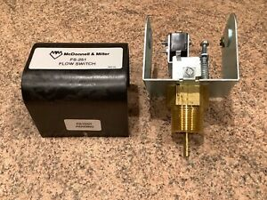 Mc Donnell Miller Flow Switch Fs251 1 Npt Connection