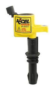 Accel 140033 Supercoil Direct Ignition Coil 3 Valve Modular Yellow