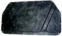 1970 Dodge Coronet Rigid Fiber Molded Hood Insulation Pad W Clips 70