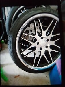20 Inch Lexus Rims Set Of 4 With New Toyo Tires 245 35r 20 95w