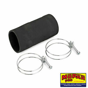 1936 1937 1938 1939 Chrysler New Fuel Tank Filler Pipe Rubber Hose And Clamps