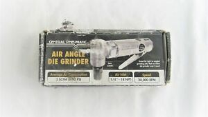 Used Central Pneumatic 1 4 In Angle Air Angle Die Grinder 32046