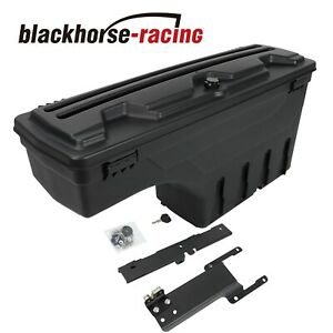 Lockable Storage Box Truck Bed Tool Box Passenger Side For Ford F 150 2015 2019