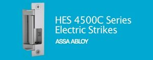 New Assa Abloy Hes 4500 12 24d 630 Stainless Steel Heavy Duty Electric Strike