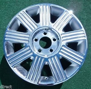 New Chrome Lincoln Towncar Wheels Oem Factory Style 17 Inch Set 4 Town Car 03 11