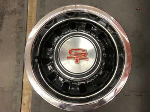 Oem Used 1968 1969 Mustang Torino Gt Styled Steel Wheel 14x6 W trim Ring