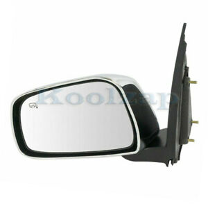 Fits 11 18 Frontier Sl Pickup Truck Rear View Mirror Assembly Power Driver Side