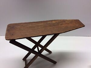 Antique Primitive Childs Wooden Ironing Board Made By Her Father In 1932 R1