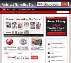 Pinterest Marketing Great Income Affiliate Web Free Installation Free Hosting
